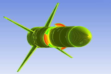 CFD-analysis-of-Rocket-Design-with-Airbrakes